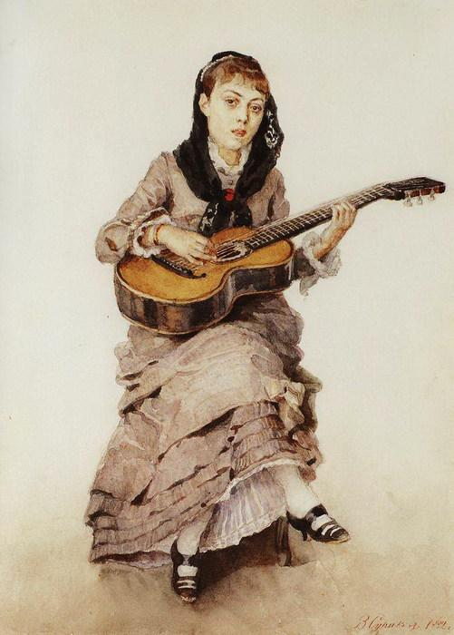Народные песни под гитару