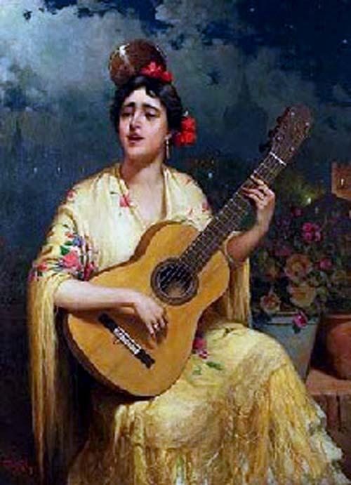 Романсы на гитаре, тексты, аккорды, миди, табулатура, разбор