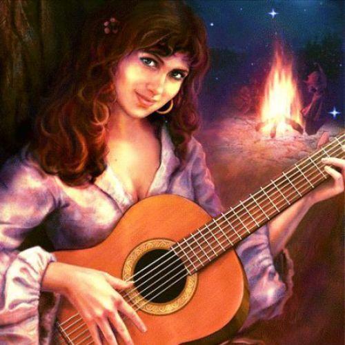 Цыганские Романсы под гитару, тексты, аккорды, табы, разбор