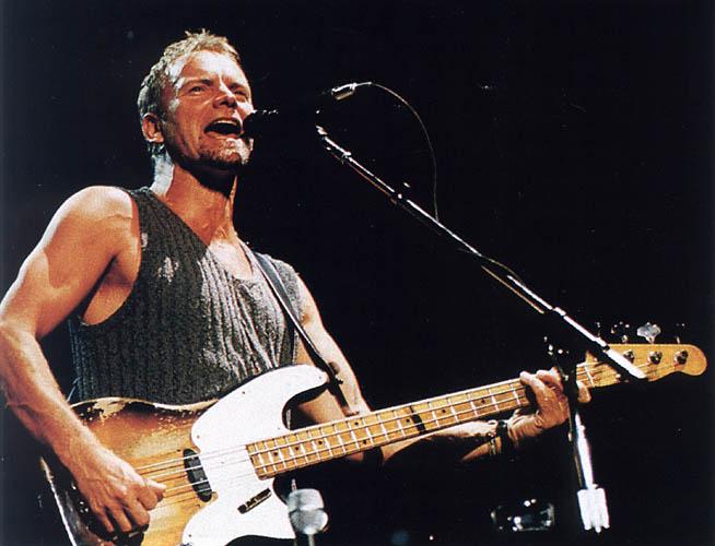 Sting - тексты песен, аккорды на гитаре, разбор