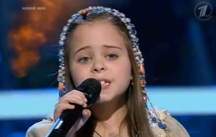 Ольга Сараканиди (Голос Дети ) Ночка луговая аккорды на гитаре, табулатура