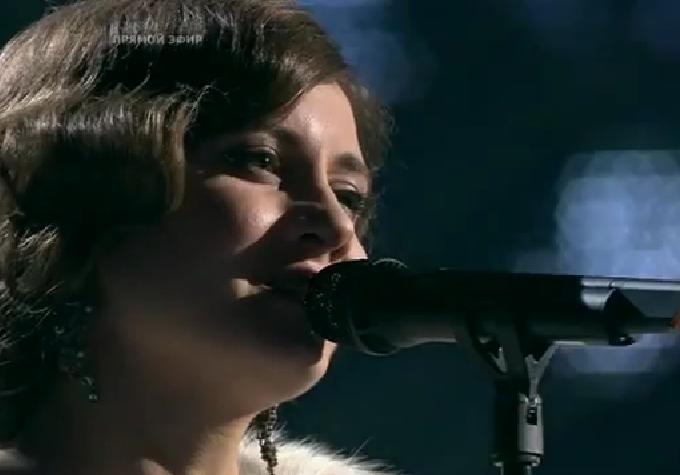Голос 3 Душевные песни. Алиса Игнатьева - Белым снегом. Аккорды, ноты