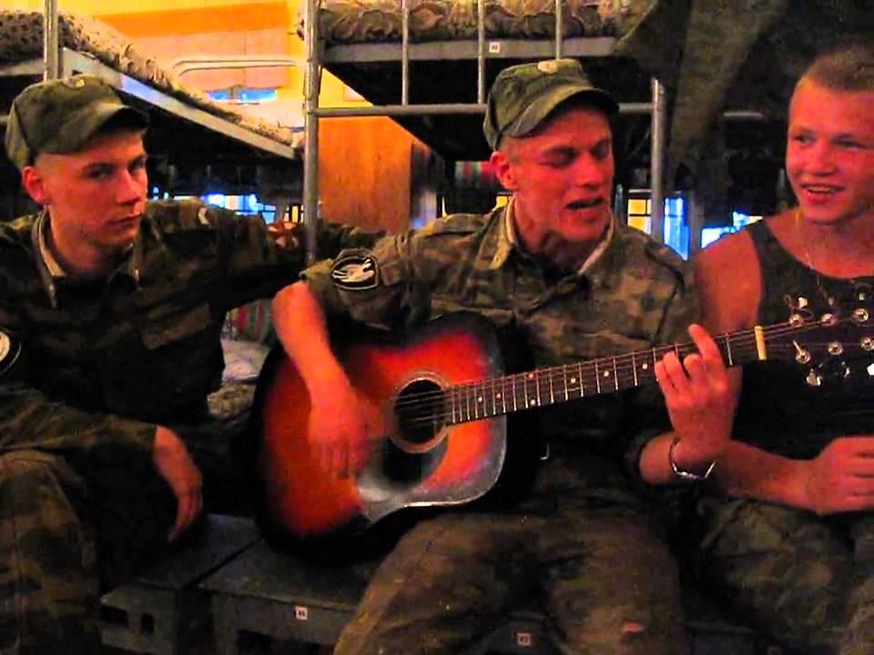 """Аккорды, разбор и текст песни """"Осеннею порою"""" – Армейские песни"""